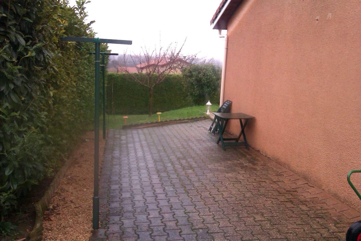 Genay 69730 projet de terrasse avant