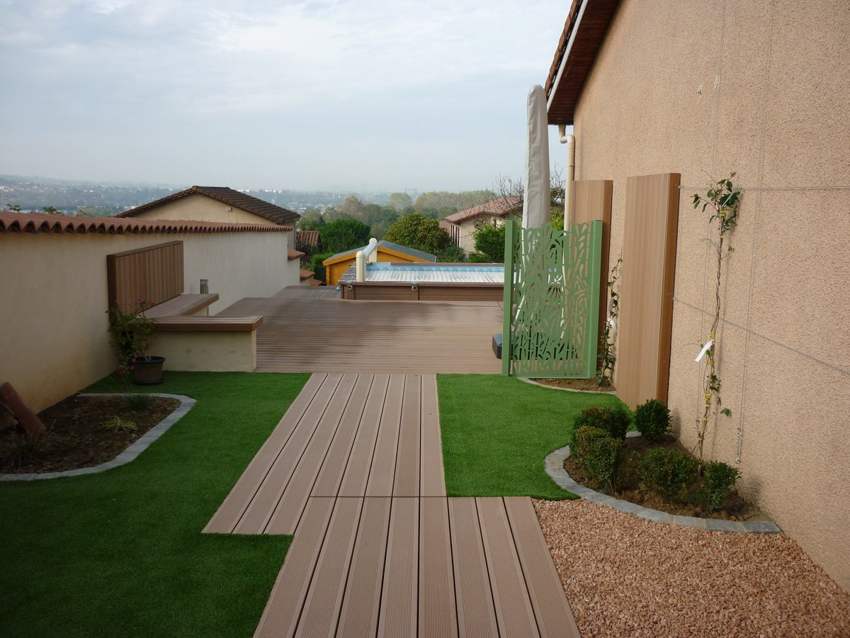 Genay 69730 projet de terrasse réalisé