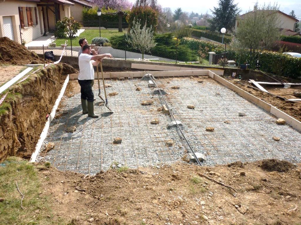 Dalle beton pour piscine hors sol - Dalle piscine hors sol ...