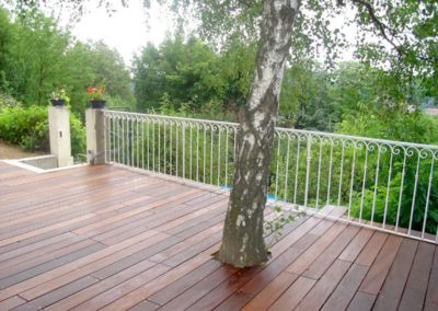 Terrasse en bois exotique IPE à Saint Rambert 69009